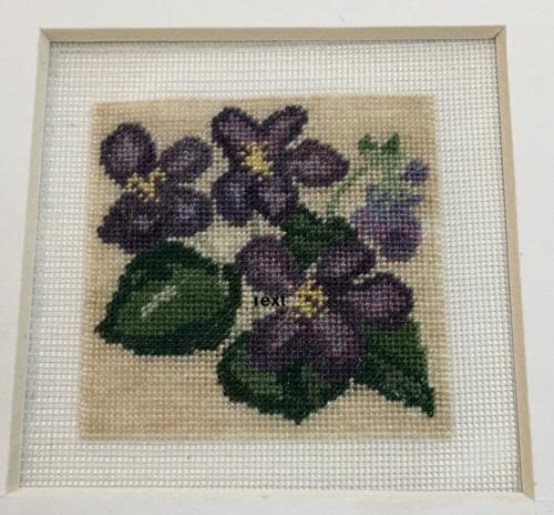 Kit 251 Violets SOB on Sycamore wood