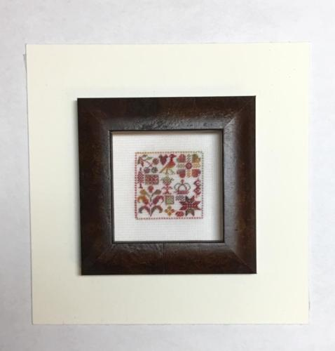 Kit 257 Silk On Silk Miniature Sampler Fall Foilage